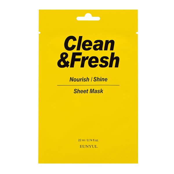 "Тканевая маска ""Nourish/Shine"" EUNYUL Clean&Fresh Nourish/Shine Sheet Mask"