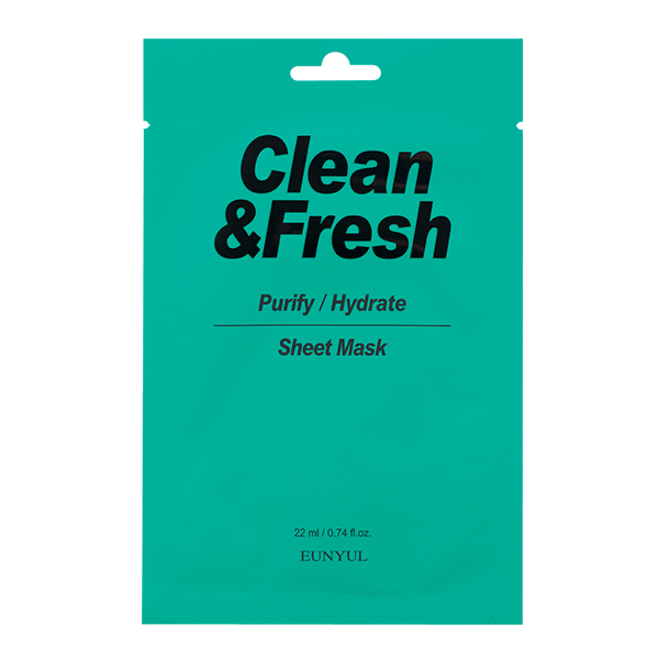 """Тканевая маска """"Purify/Hydrate"""" EUNYUL Clean&Fresh Purify/Hydrate Sheet Mask"""