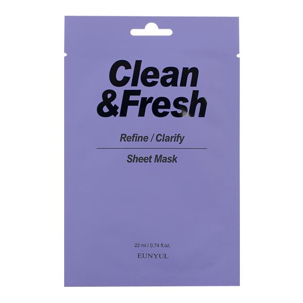 """Тканевая маска """"Refine/Clarify"""" EUNYUL Clean&Fresh Refine/Clarify Sheet Mask"""