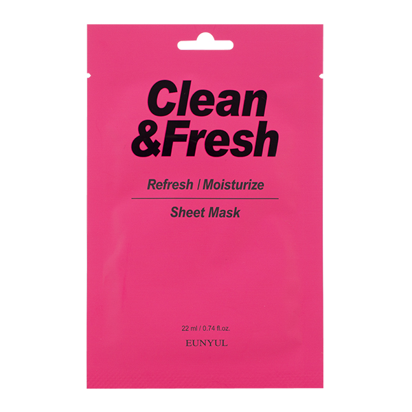 "Тканевая маска ""Refresh/Moistuize"" EUNYUL Clean&Fresh Refresh/Moistuize Sheet Mask"