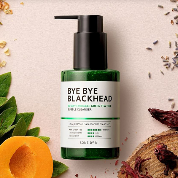 Some By Mi 30 Days Miracle Green Tea Tox Bubble Cleanser - 1