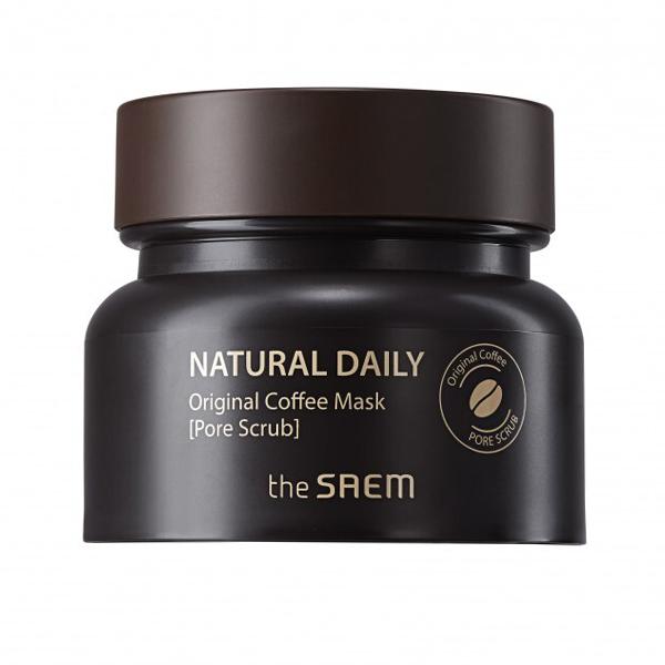Очищающая маска-скраб с экстрактом кофе The Saem Natural Daily Coffee Original Mask