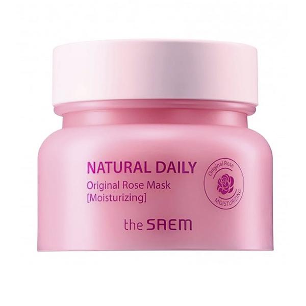 Очищающая маска с розой The Saem Natural Daily Rose Original Mask