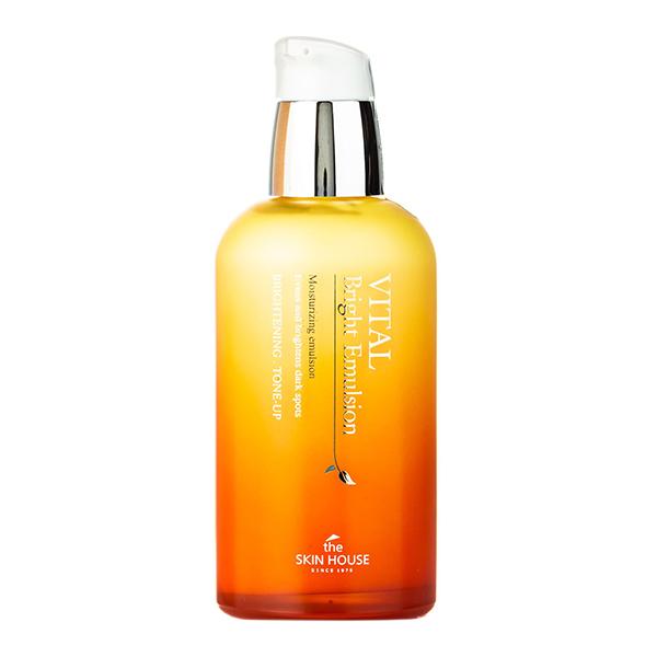 Тонизирующая эмульсия для сияния кожи  The Skin House Vital Bright Emulsion