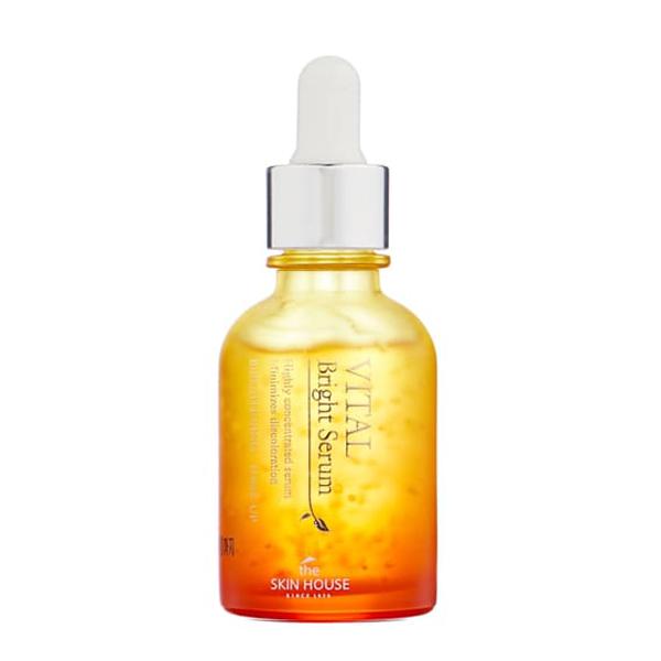 Ампульная сыворотка для сияния кожи The Skin House Vital Bright Serum (Ampoul)