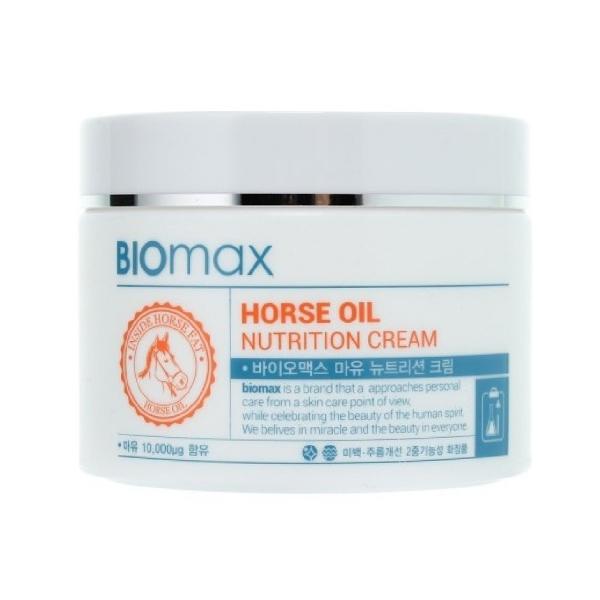 Питательный крем с лошадиным маслом Welcos BIOmax Horse Oil Nutrition Cream