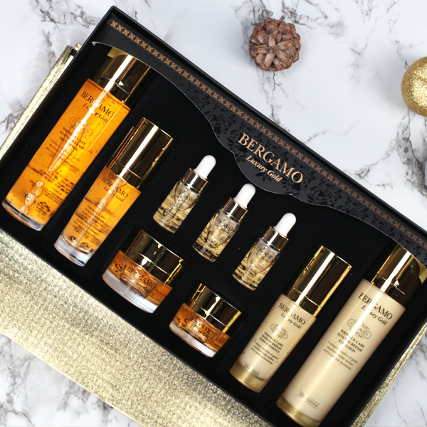 Bergamo Gold Skin Care Set 9pcs