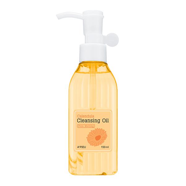 Гидрофильное масло с календулой A'PIEU Calendula Cleansing Oil Pore Melting