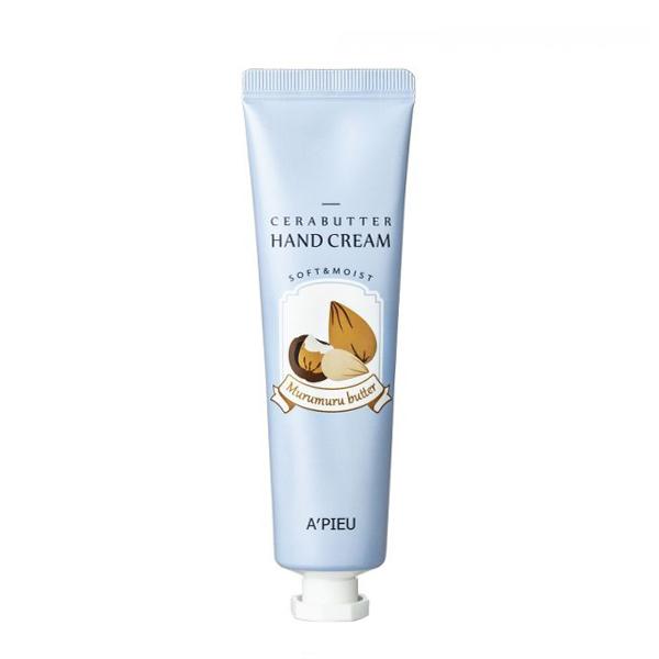 Питательный крем для рук с маслом мурумуру A'PIEU Cerabutter Murumuru Butter Hand Cream
