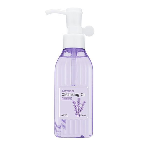 Гидрофильное масло для чувствительной кожи A'PIEU Lavender Cleansing Oil Sensitive
