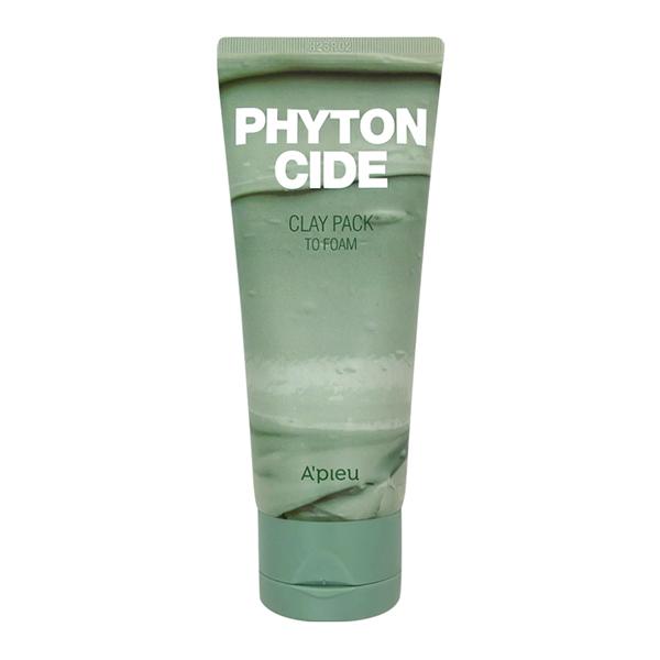 Пенка для умывания с вулканическим пеплом A'PIEU Phytoncide Clay Pack To Foam