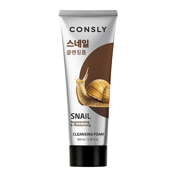 Consly Snail Mucus Regenerating Creamy Cleansing Foam
