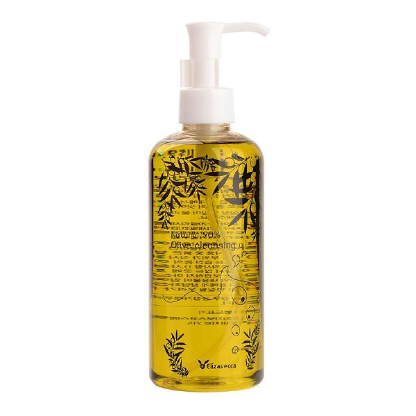 Гидрофильное масло на основе масла оливы Elizavecca Natural 90% Olive Cleansing Oil