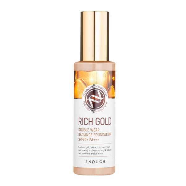 Тональная основа с эффектом сияния #21 Enough Rich Gold Double Wear Radiance Foundation #21