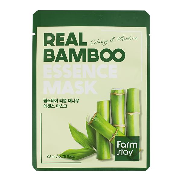 Тканевая маска с экстрактом бамбука FarmStay Real Bamboo Essence Mask