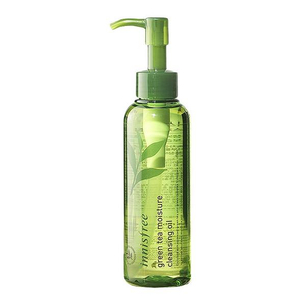 Гидрофильное масло на основе зелёного чая Innisfree Green Tea Moisture Cleansing Oil