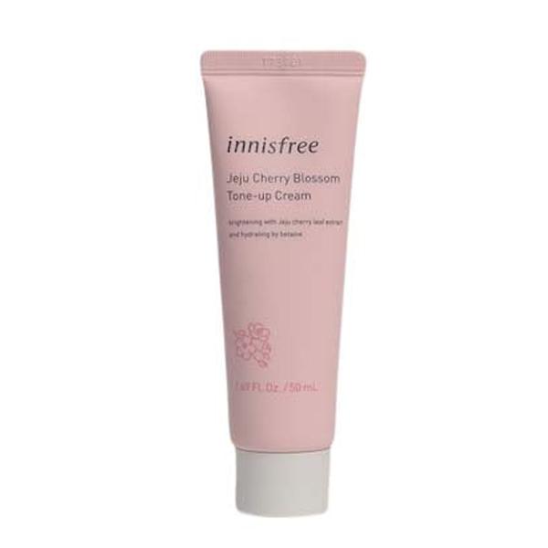 Крем для выравнивания тона кожи Innisfree Jeju Cherry Blossom Tone-Up Cream