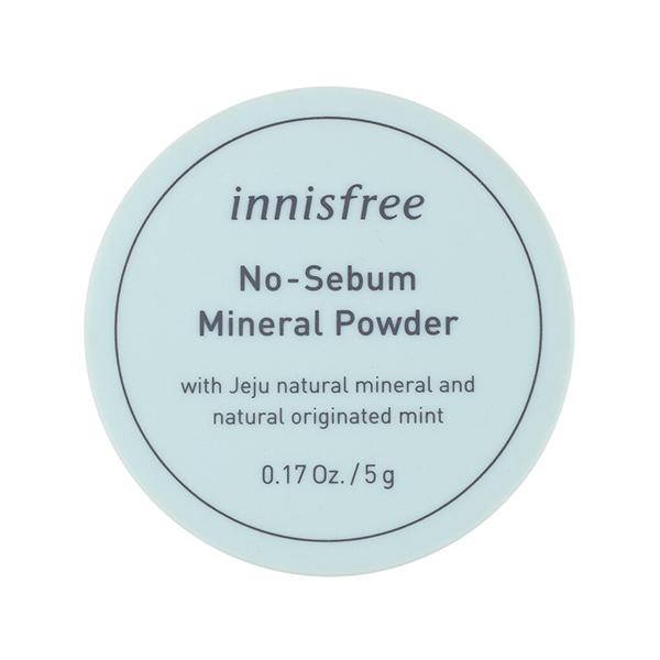 Минеральная рассыпчатая пудра Innisfree No Sebum Mineral Powder 5G