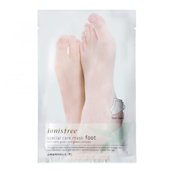 Носочки-маска для ног Innisfree Special Care Mask Foot