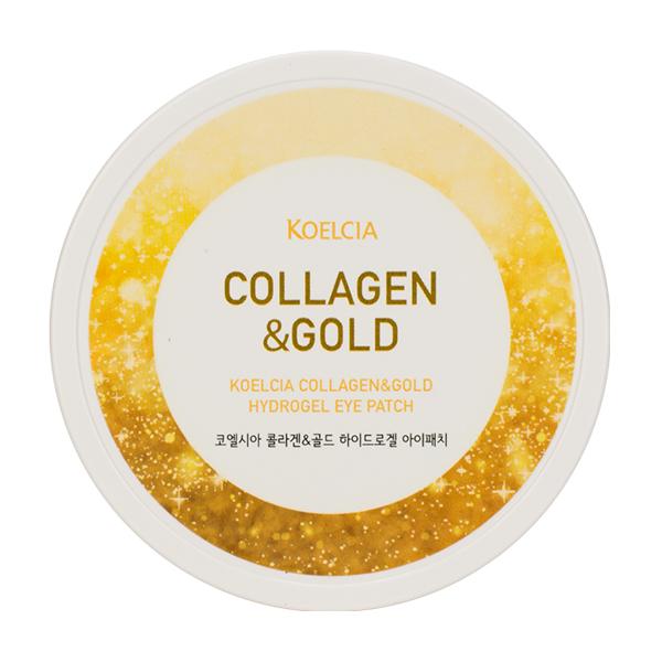 Патчи для глаз с коллагеном и золотом KOELCIA Collagen&Gold Hydrogel Eye Patch 60pcs
