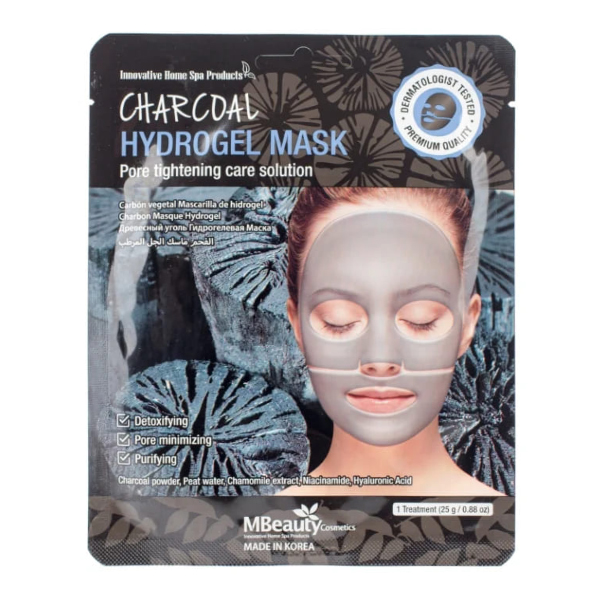 MBeauty Charcoal Hydrogel Mask