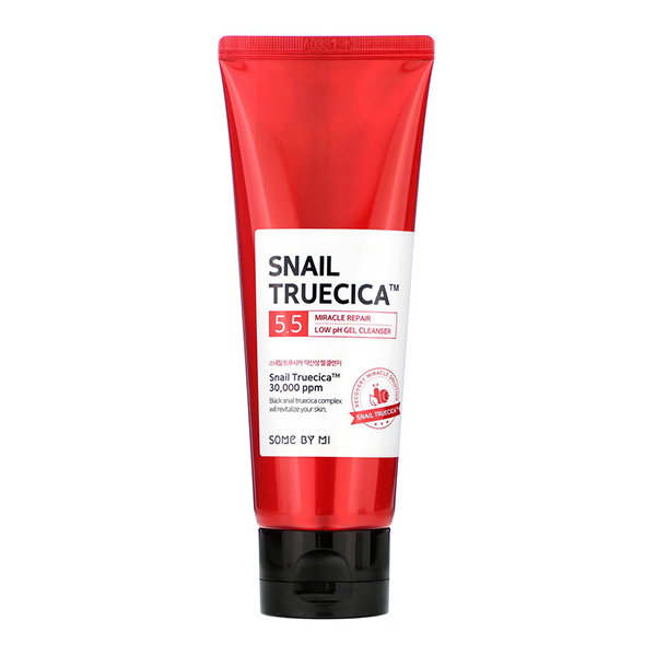 Гель для умывания с низким pH для проблемной кожи  Some By Mi Snail Truecica Miracle Repair Low pH Gel Cleanser