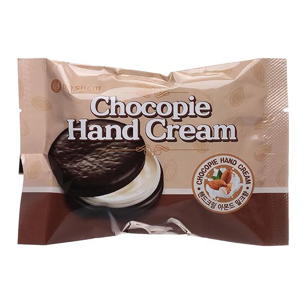 Крем для рук с маслом миндаля  The Saem Chocopie Hand Cream Almond Milk