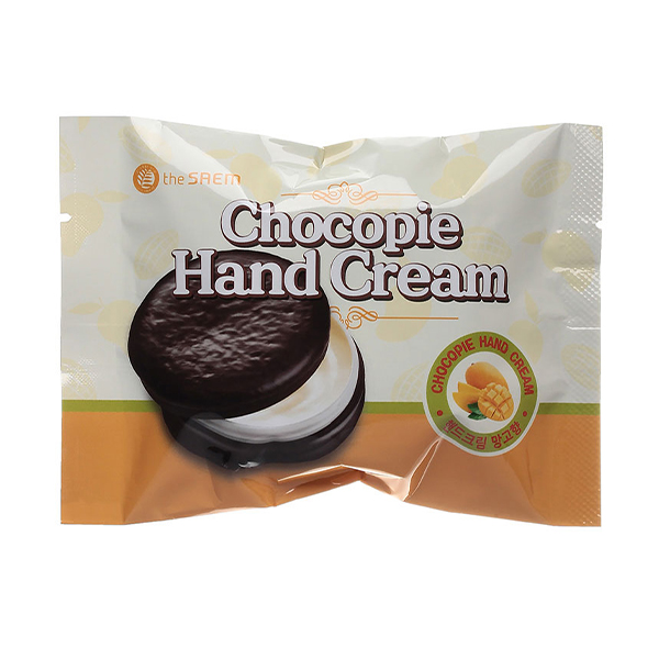 Крем для рук с манго The Saem Chocopie Hand Cream Mango