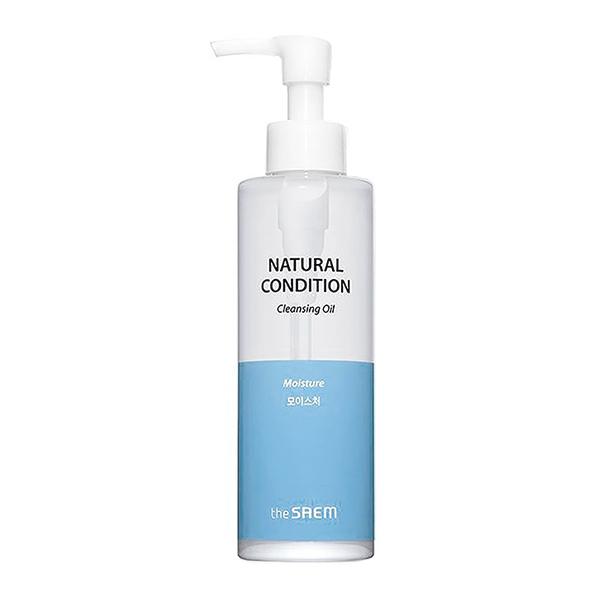 Гидрофильное масло для сухой кожи The Saem Natural Condition Moisture Cleansing Oil