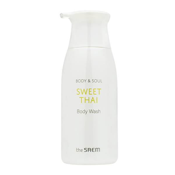 Гель для душа с ароматом персика The Saem Sweet Thai Body & Soul Sweet Thai Body Wash