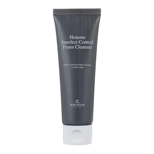 Пенка для мужской кожи, склонной к жирности The Skin House Homme Innofect Control Foam Cleanser
