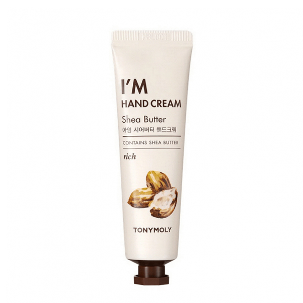 Крем-масло для рук с маслом ши, 30гр Tony Moly Natural Green Hand Cream - Shea Butter
