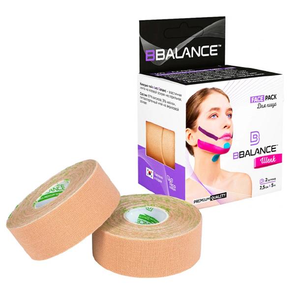 BBTape Face Pack 2,5см*5м (бежевый)