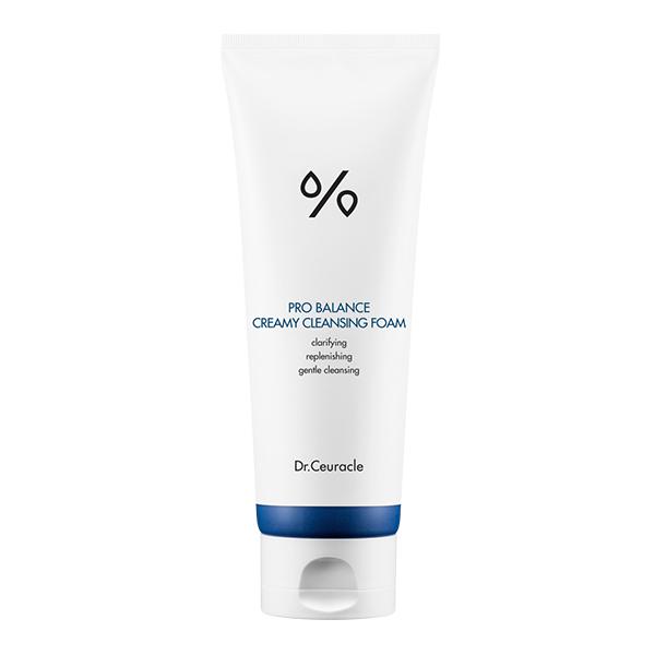 Балансирующая пенка для жирной кожи  Dr.Ceuracle Pro-balance Creamy Cleasing Foam