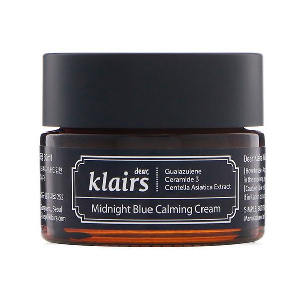Крем с азуленом для чувствительной кожи Klairs Midnight Blue Calming Cream