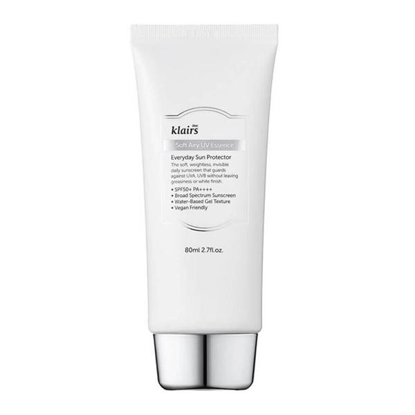 Лёгкий солнцезащитный крем Klairs Soft Airy UV Essence SPF50 PA++++