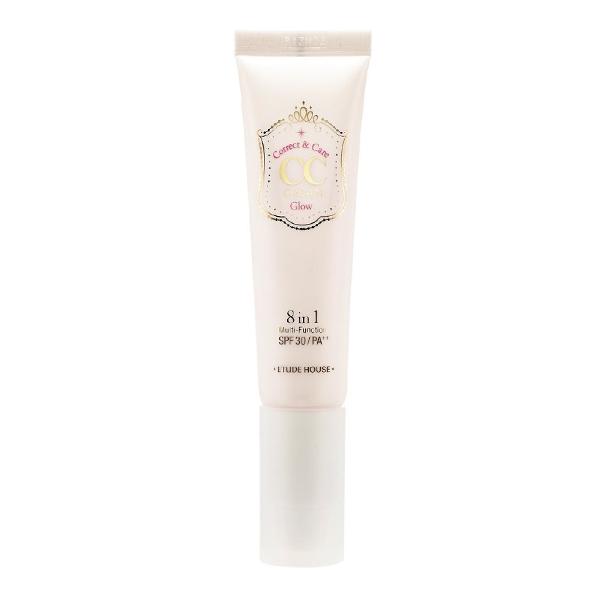 CC крем с эффектом сияния Etude House CC Cream 8 in 1