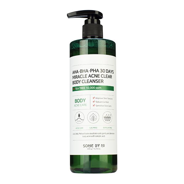 Очищающий гель для душа с AHA, BHA и PHA кислотами SOME BY MI AHA-BHA-PHA 30 Days Miracle Acne Clear Body Cleanser