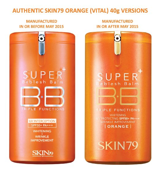 Skin79 Super Plus Beblesh Balm Triple Functions Vital Orange SPF50+ 40ml
