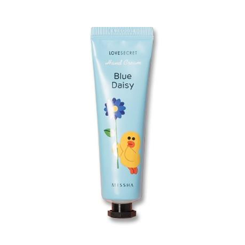 Missha Line Friends Edition Love Secret Hand Cream Blue Daisy