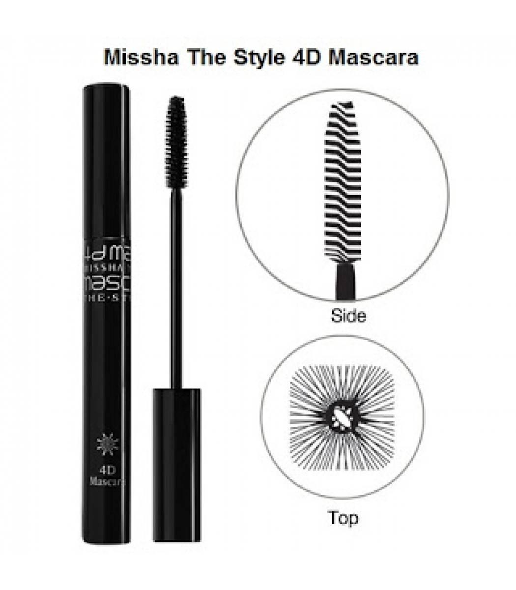 Missha The Style 4D Mascara (black)