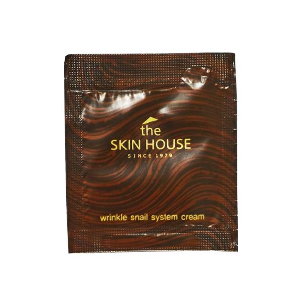 The Skin House Wrinkle Snail System Cream sample