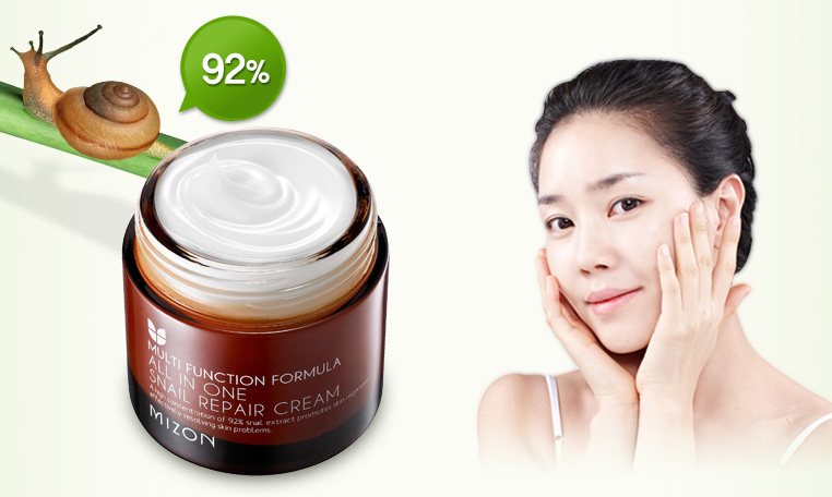 Mizon All in One Snail Repair Cream 92% Snail Extract