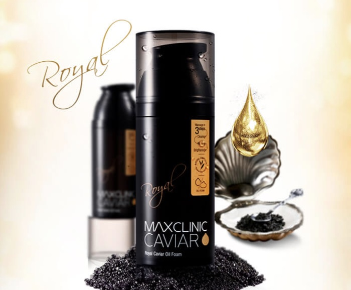 Maxclinic Black Royal Caviar Oil Foam