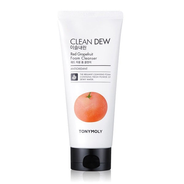 Tony Moly Clean Dew Red Grape Fruit Foam Cleanser