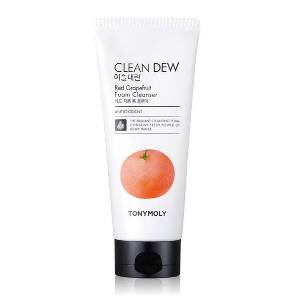 Пенка для умывания с экстрактом грейпфрута Tony Moly Clean Dew Red Grape Fruit Foam Cleanser