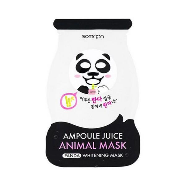Scinic Somoon Ampoule Juice Panda Whitening Animal Mask