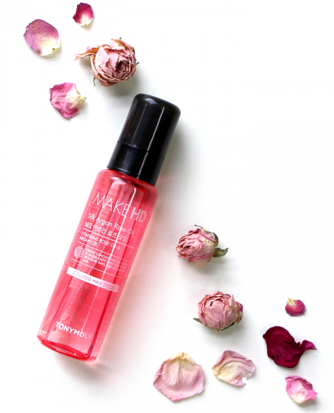Tony Moly Make HD Silk Argan Rose Oil