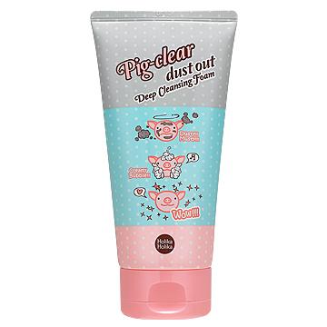 Holika Holika Pig-сlear Dust Out Deep Cleansing Foam