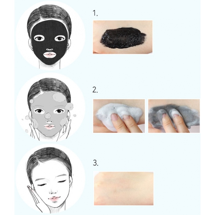 Elizavecca Hell-Pore Bubble Black Boom Pore Pack